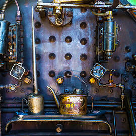 Garry Gay - Oil Cans In Steam Engine Cab