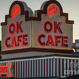 Reid Callaway - OK CAFE Neon 2 Atlanta Classic Landmark Restaurant Art