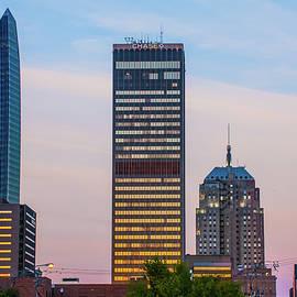 Oklahoma City Okc Downtown City Skyline by Gregory Ballos