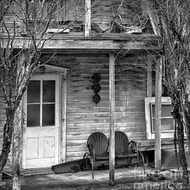 Front Porch BW by Walt Foegelle