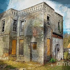 Liane Wright - Old and Dilapidated Colored Sketch