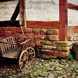Old Barn by Digital Art Cafe