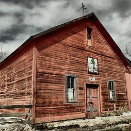 Old barn in Roslyn WA by Jeff Swan