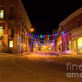 Amy Sorvillo - Old Bisbee Arizona by Night