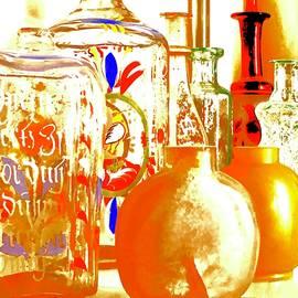 Old Bottles by Alida M Haslett