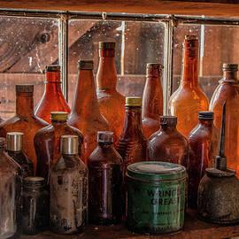 Teresa Wilson - Old Bottles on the Windowsill