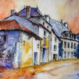 Cathy MONNIER - Old buildings in Charroux