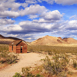 James Eddy - Old Cabin At Rhyolite