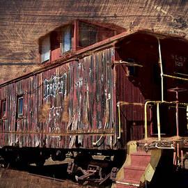 James DeFazio - Old Caboose - Railroad Car