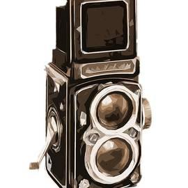 Old Camera Tee by Edward Fielding