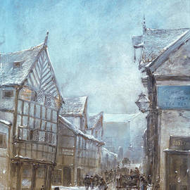 Old Cheapside, Warrington, 1864 - George Sheffield