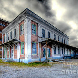 Old Clinchfield Train Station by Photography by Laura Lee