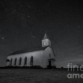 Old Country Church by Keith Kapple