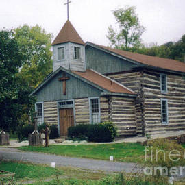 Old Country Church in Pennsylvania by Ruth  Housley