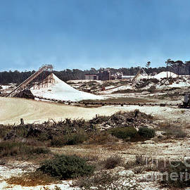 Old Del Monte Sand Plant At Moss Beach Asilomar And Pebble Beach Circa 1960 by California Views Archives Mr Pat Hathaway Archives