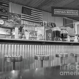 Old diner by Philippe Tulula