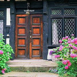 Old Double Doors by Sally Weigand