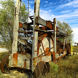 Jeff Swan - Old drilling rig