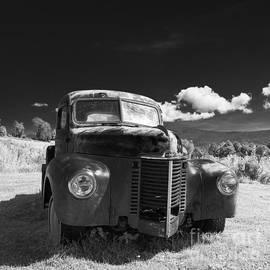 Old Farm Truck Infrared by Edward Fielding