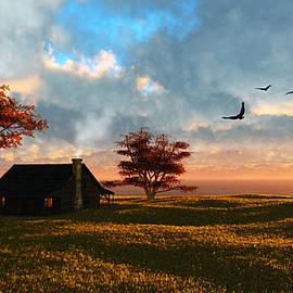 Diana Voyajolu - Old Farmhouse in the Fall