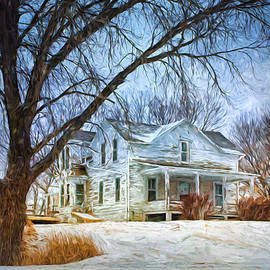 Nikolyn McDonald - Old Farmhouse - Winter