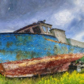 Ken Morris - Old Fishing Boat