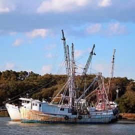 Cynthia Guinn - Old Fishing Boats