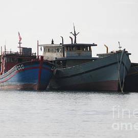 Old Fishing Boats by Wilko Van de Kamp