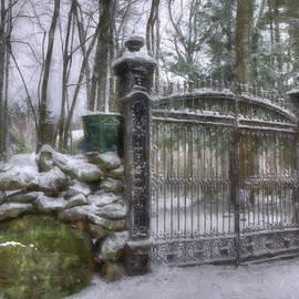 Joann Vitali - Old Iron Gate in Winter
