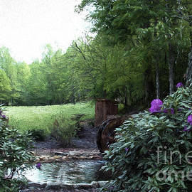 Old Mill Serenity by Luther Fine Art