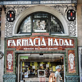 Old modernist pharmacy in Barcelona by RicardMN Photography
