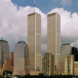 Joann Vitali - Old NYC Skyline