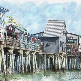 Brenda Spittle - Old Orchard Beach Pier