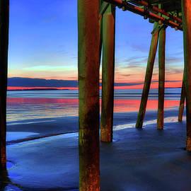 Joann Vitali - Old Orchard Beach Pier -Maine Coastal Art