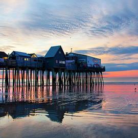 Joann Vitali - Old Orchard Beach Sunrise - Maine