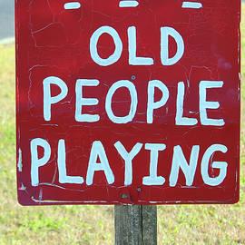 Cynthia Guinn - Old People Playing
