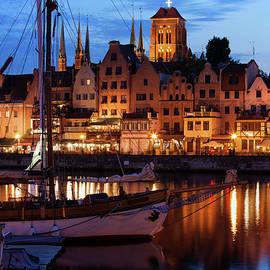 Artur Bogacki - Old Port City of Gdansk at Twilight Evening