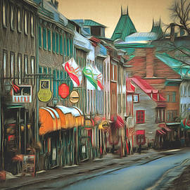 Anthony Caruso - Old Quebec City