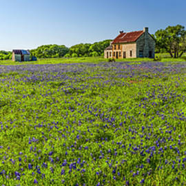 Greg Reed - Old Ranch on US 281 Marble Falls Panorama 2017