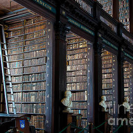 Old Room in the Trinity College Library in Dublin by RicardMN Photography
