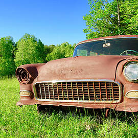 Old Rusty Car by The American Shutterbug Society