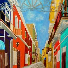 Old San Juan - Painting