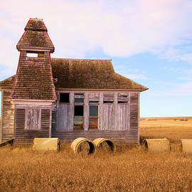 Old School House in North Dakota by Jeff Swan