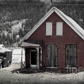 Old Silverton Colorado Bordello  by Janice Pariza