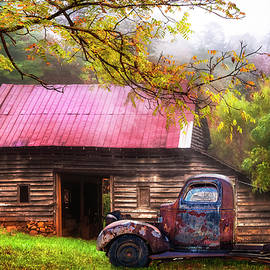 Old Smoky Truck and Barn