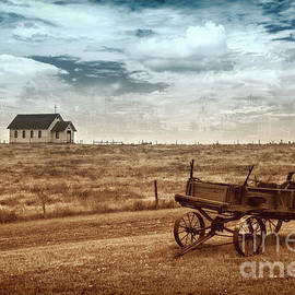 Old South Dakota Town by Sharon Seaward