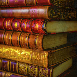 Old Stacked Books - Garry Gay