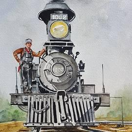 Virginia Plowman - Old steam train