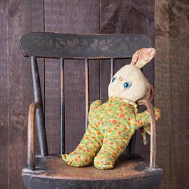 Edward Fielding - Old Stuffed Bunny on High Chair