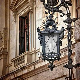 Carol Japp - Old Style Street Lamp in Valencia Spain